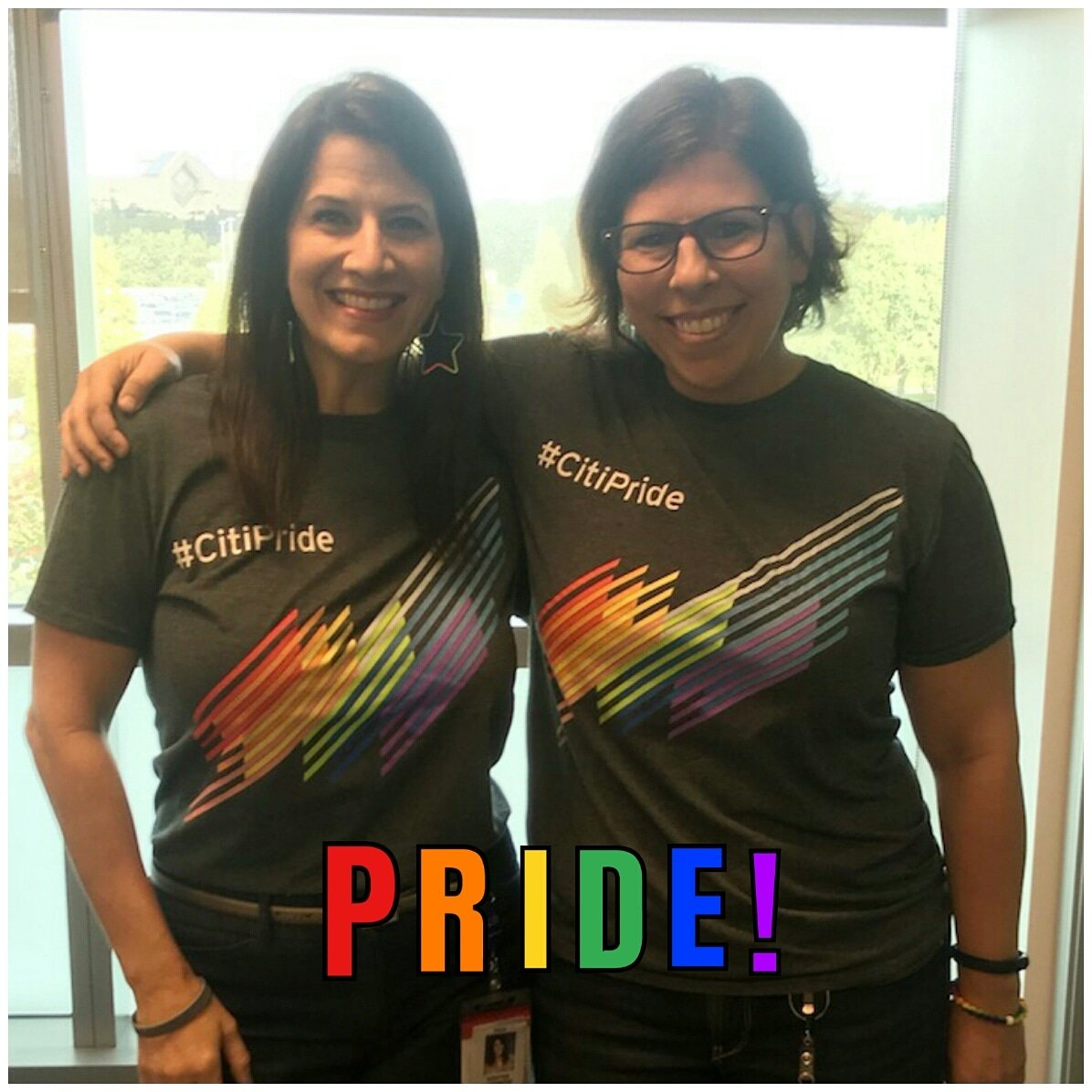 Supporting National Coming Out Day with PRIDE! So happy to work for a company who supports diversity and inclusion. #nationalcomingoutday #ncod #lgbtallys. #LifeAtCiti. #CitiAmbassador #CitiTampa. #Citi