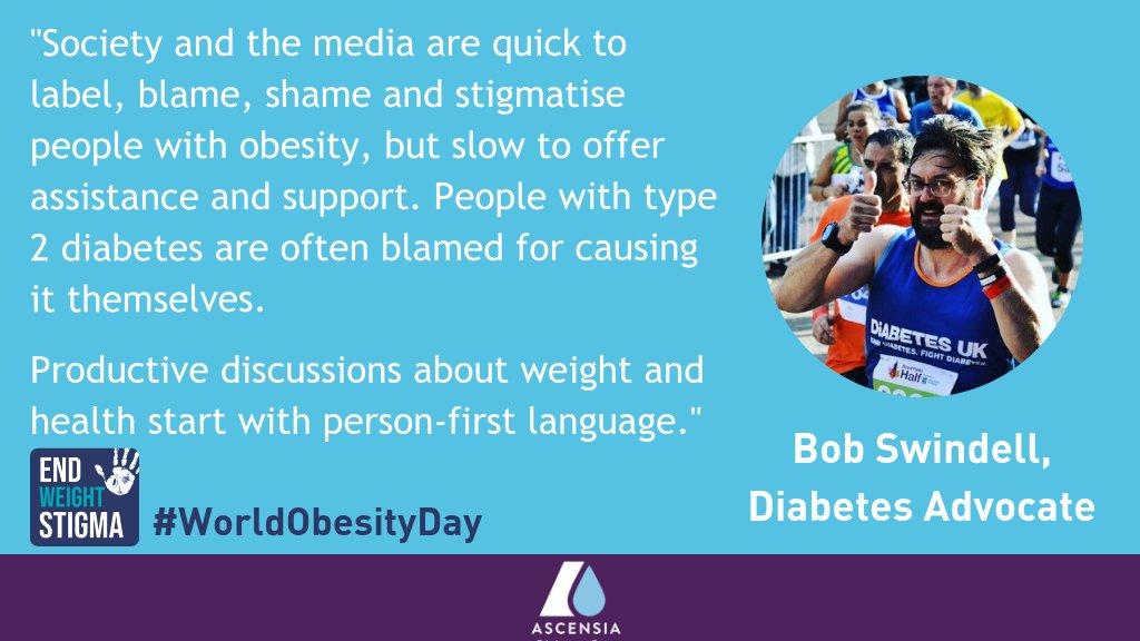 Ascensia Diabetes Care's photo on #worldobesityday