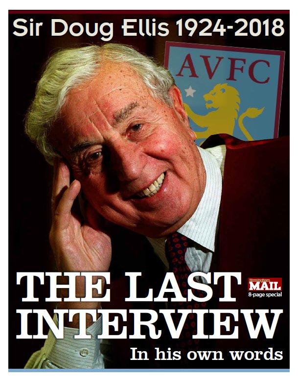 Aston Villa News's photo on sir doug ellis