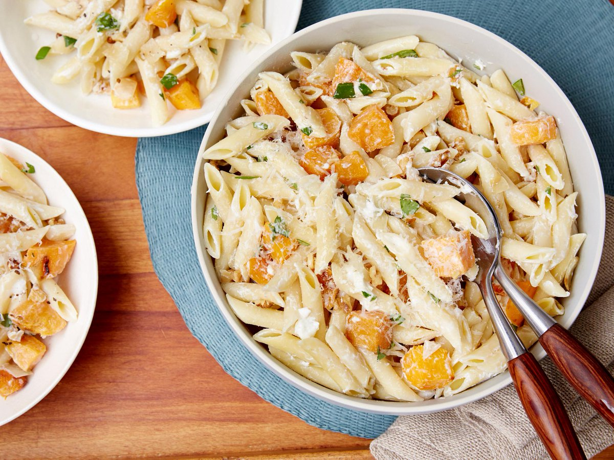 @FoodNetwork: Recipe of the Day: Penne with Butternut Squash and Goat Cheese 😋 https://t.co/1wuVoWFc9y https://t.co/nxZpG3LyZA