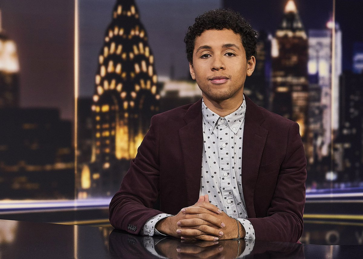 Some personal news: We have a new correspondent and his name is Jaboukie Young-White!