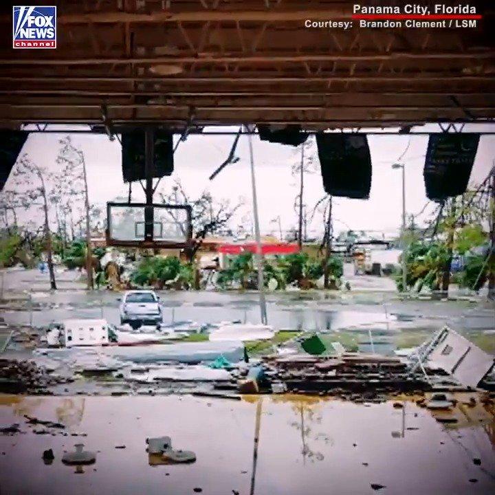 Hurricane Michael devastation in Panama City, Florida seen in drone video, photos fxn.ws/2IRPgj6
