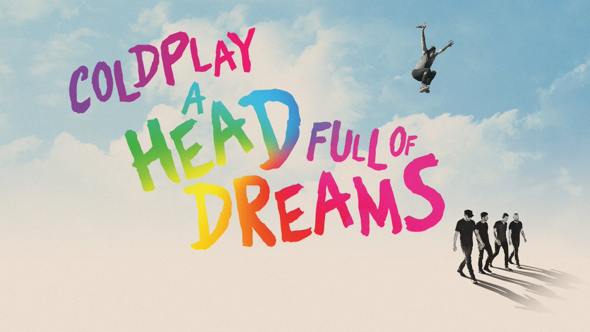 Next month, Coldplay will release a new film called A Head Full Of Dreams, charting their two decades together so far. The film will stream exclusively on #PrimeVideo from 16 November. It's also in cinemas worldwide on 14 November. Tickets at . A #AHFODfilm