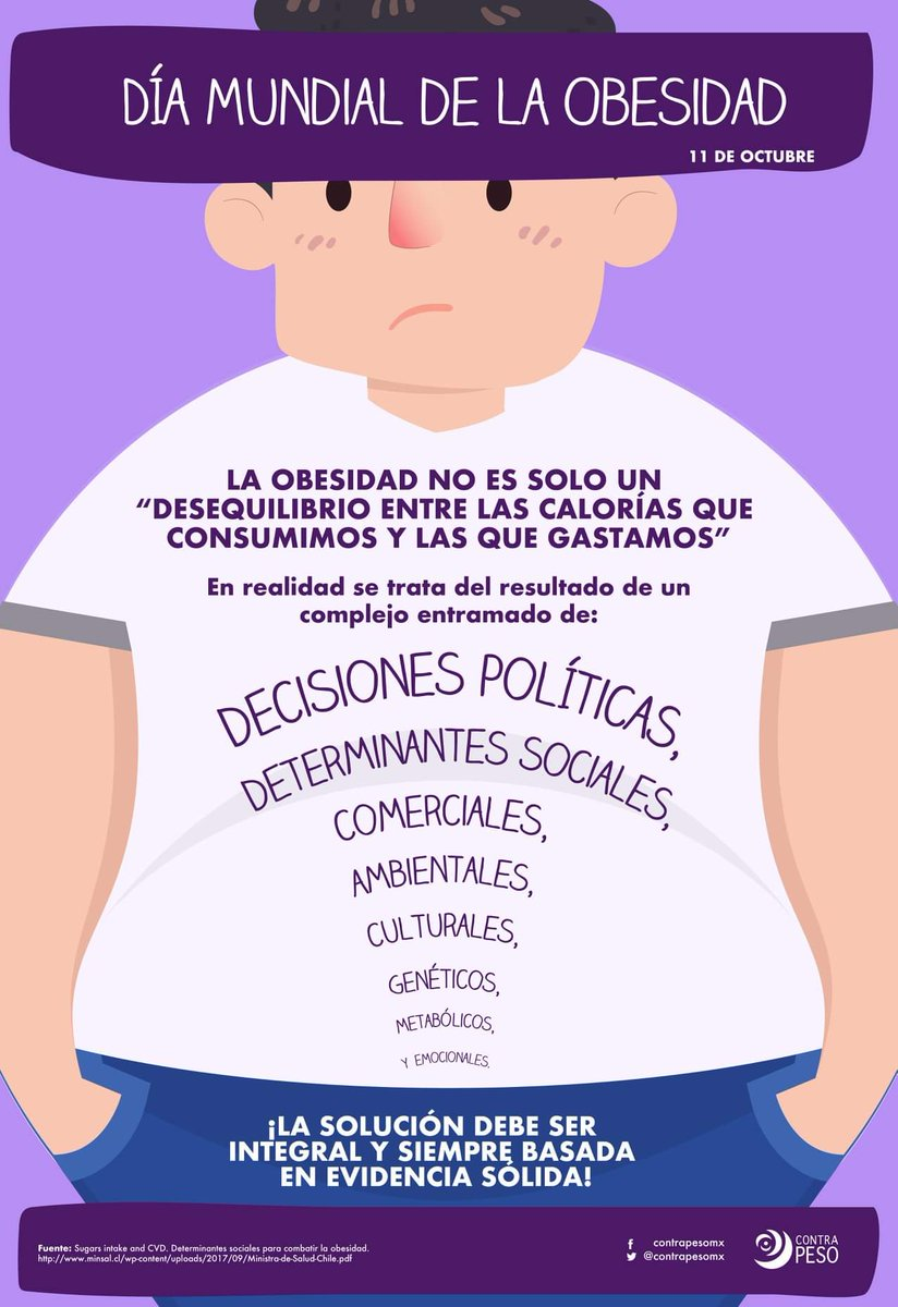 ContraPESO's photo on #worldobesityday