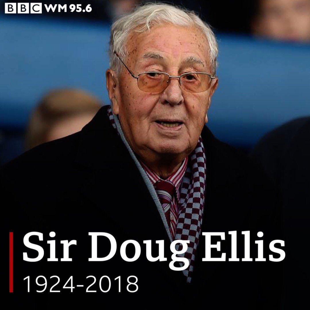 BBC WM Sport 95.6's photo on sir doug ellis