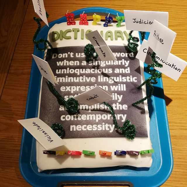 A #birthday #cake for my loquacious son. #thewriterscompany https://t.co/FItKXNoRbe https://t.co/QuOQmUql83