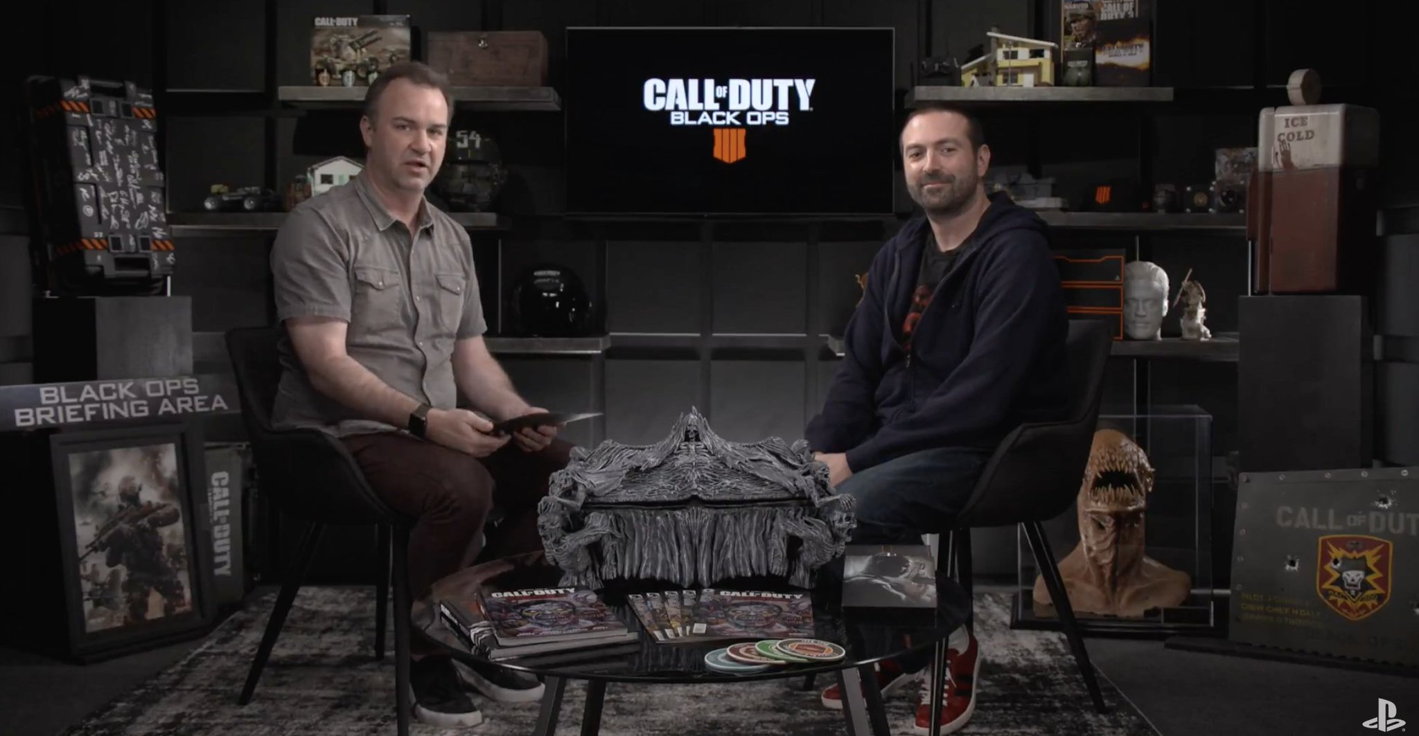 We are LIVE with #BlackOps4, direct from @Treyarch: https://t.co/R4zkGM8W2D https://t.co/hxQErc4ccY