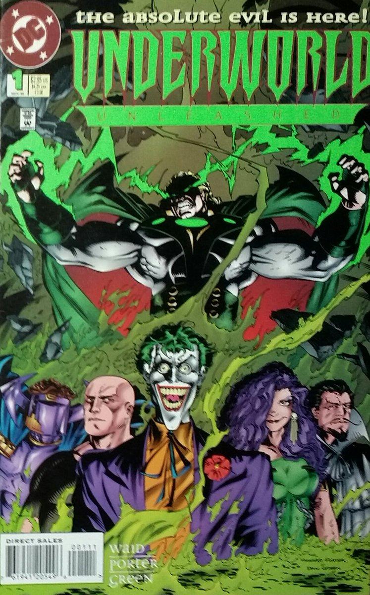 Underworld Unleashed #1 - DC Comics - Novembro de 1995  #comics #quadrinhos #gibis #dccomics #dcsagas #underworldunleashed #avingançadosubmundo #justiceleague #thejoker #lexluthor #neron #circe #drpolaris #abrakadabra #howardporter #instacomics