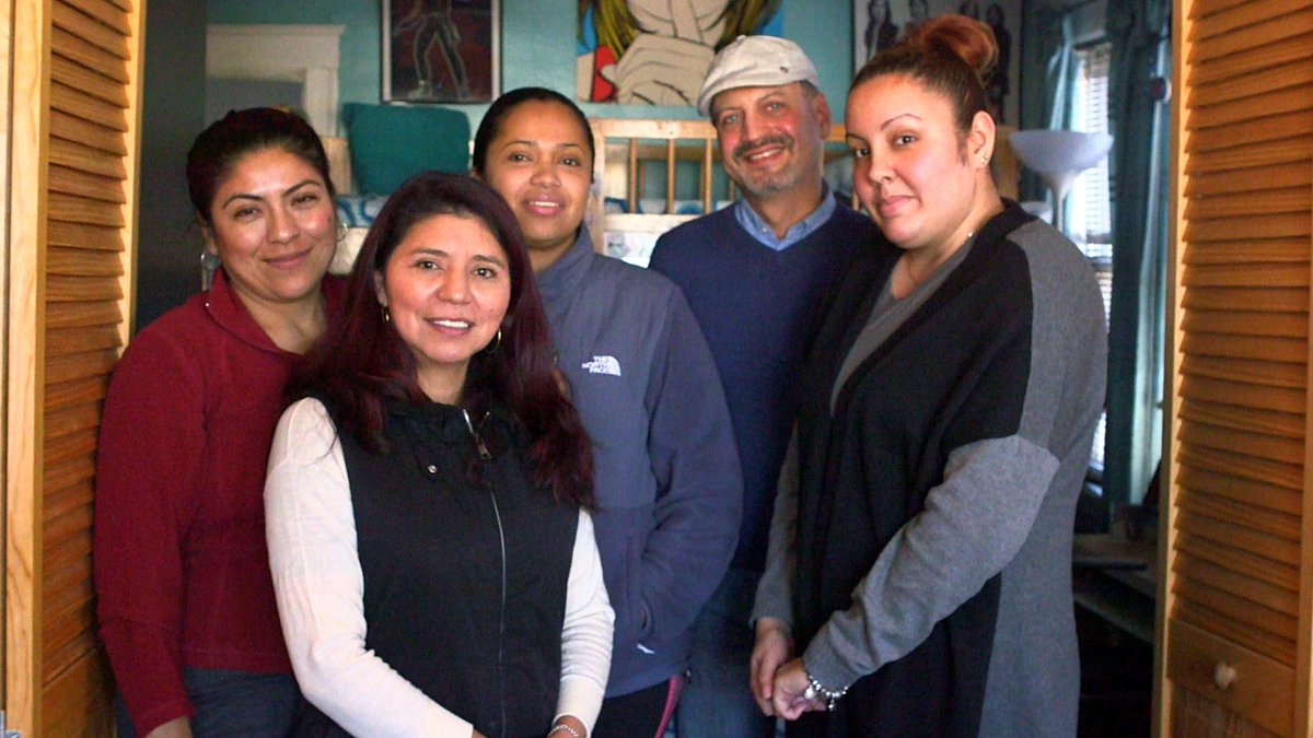 A4: We are supporting over 600 households annually in the Boston area to stay in their homes in the face of massive rent hikes and no-fault evictions. #UpChat #CommunitiesThriveChallenge @upworthy @RockefellerFdn<br>http://pic.twitter.com/MqAbfeYLN2