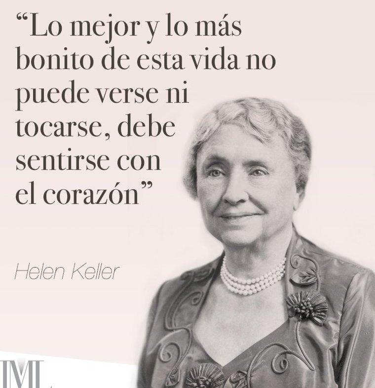 Dr Alberto Blázquez A Twitter Frase Hellen Keller Vía