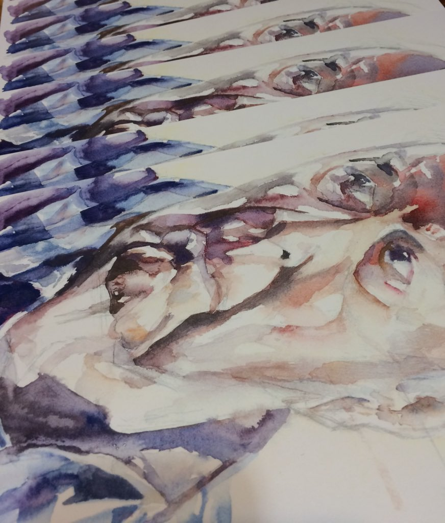 9' x 12' Jasper Johns prints are in!
