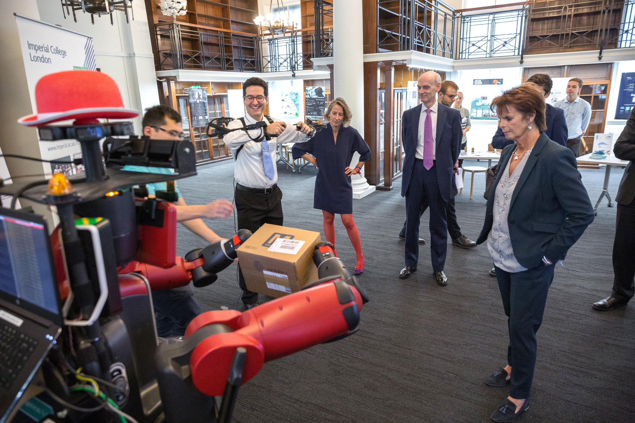 Dyson School Of Design Engineering On Twitter A Pleasure To Welcome Annemilton And Educationgovuk To Show Our Design Engineering Research And Student Projects Today Stem Education Imperialcollege Rca Https T Co Dfmhawafea