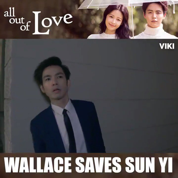 #WallaceChung heroically saves #SunYi! Is anyone else swooning? Find more in #AllOutOfLove on Viki. HD, no ads, Viki Pass 30% OFF: bit.ly/VikiFallSale