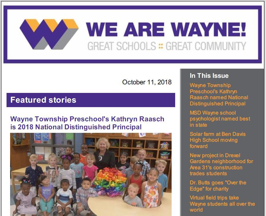 We Are Wayne On Twitter The We Are Wayne Newsletter Was Emailed