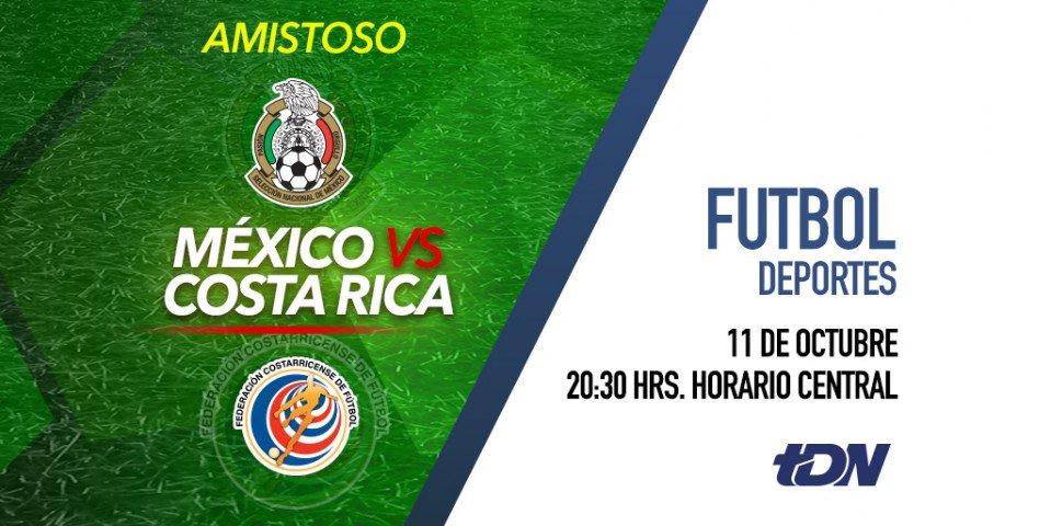 Esta vez el Estadio Universitario será tricolor para recibir a los ticos. No te pierdas el partido de México vs Costa Rica esta noche por @tdn_twit. https://t.co/cx4XsCw02M