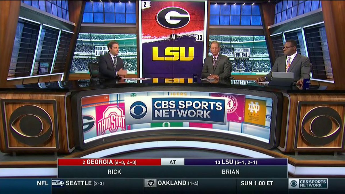 "CBS Sports Network on Twitter: """"I'm rolling with LSU ..."