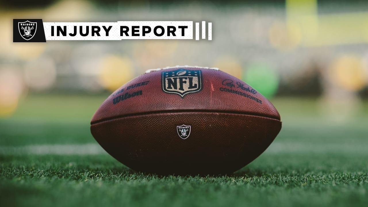 Week 6 Injury Report: https://t.co/OPlDlG2kHl https://t.co/69JrswxlqX