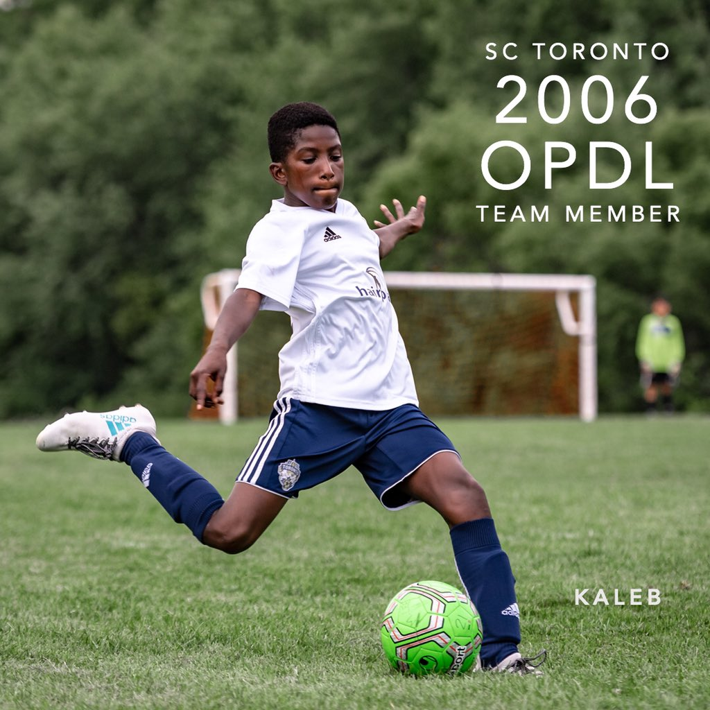 Congratulations Kaleb for earning a spot on the 2006 SC Toronto OPDL Team #SupportLocalFootball #Toronto #2006Boys  #SCToronto #TorontoSoccer #SoccerInTheSix #OPDL #OntarioSoccer #PlayInspireUnite #Football #Soccer #Canada2026 #TheBeautifulGame  Tryouts ongoing. DM for details.