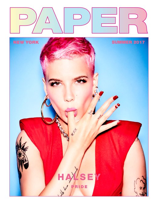 Happy #NationalComingOutDay! ya girl is #OutAndProud. Here's a throwback of me covering @papermagazine's PRIDE Issue! One of the 🏳️‍🌈proudest🏳️‍🌈 moments of my life! 💖💜💙 Photo