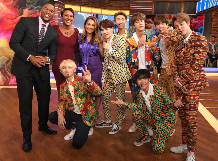 We're missing our #BTS family this week and sending all our love to Jimin!! 💜 #GetWellSoonJimin 💜  #BTSonGMAonGMA