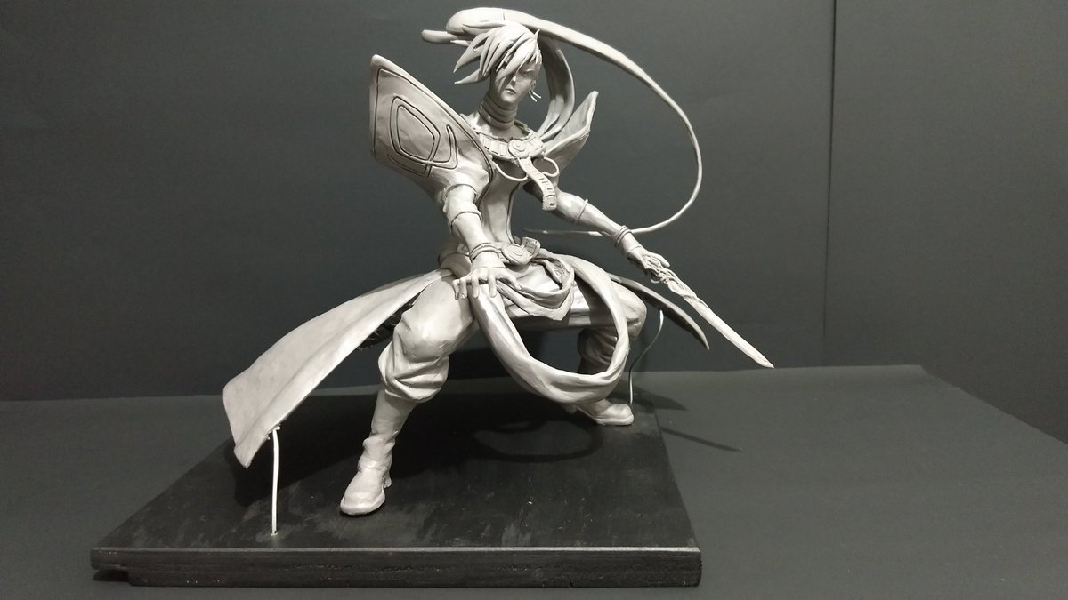 Kala Anime Mind Mode. *-* By : Shinigami_sculptures