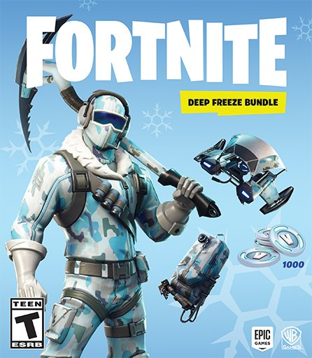 Amazon Video Games On Twitter Fortnite Deep Freeze Bundle Is Now