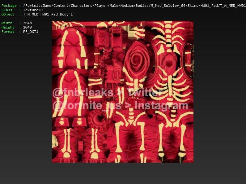 8pcs Set Fortnite Halloween Llama Skull Trooper Skin Pv