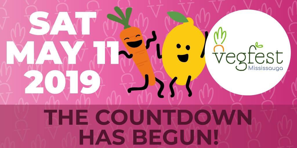 Mark your calendars... #MississaugaVegfest 2019 is on May 11th!🎉