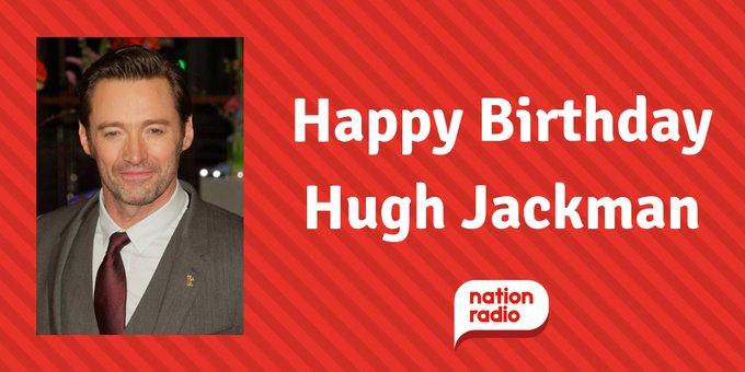 Happy Birthday Hugh Jackman, he\s 50 today!