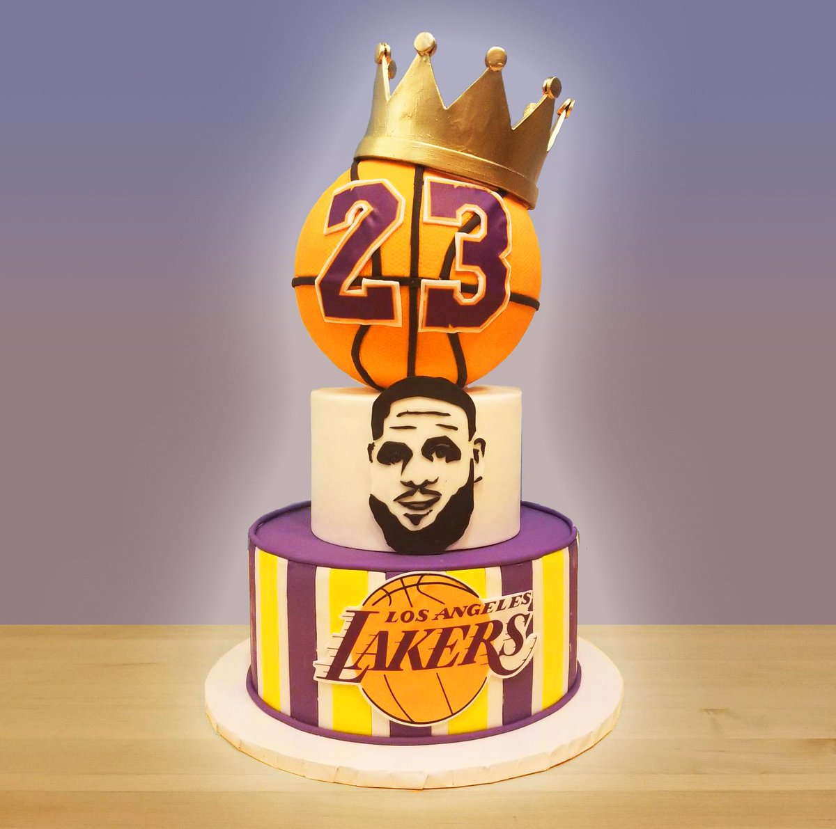 Outstanding Big Sugar Bakeshop On Twitter Order Your La Laker Cakes Funny Birthday Cards Online Sheoxdamsfinfo
