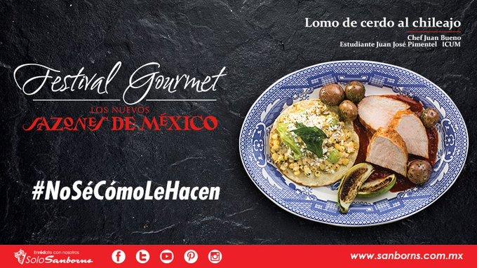 #NoSéCómoLeHacen pero nuestros chefs siempre rebasan nuestras expectativas y preparan deliciosas creaciones. ¿Ya probaste algo de nuestro #FestivalGourmet? 😉 Te esperamos. 🦉 Photo