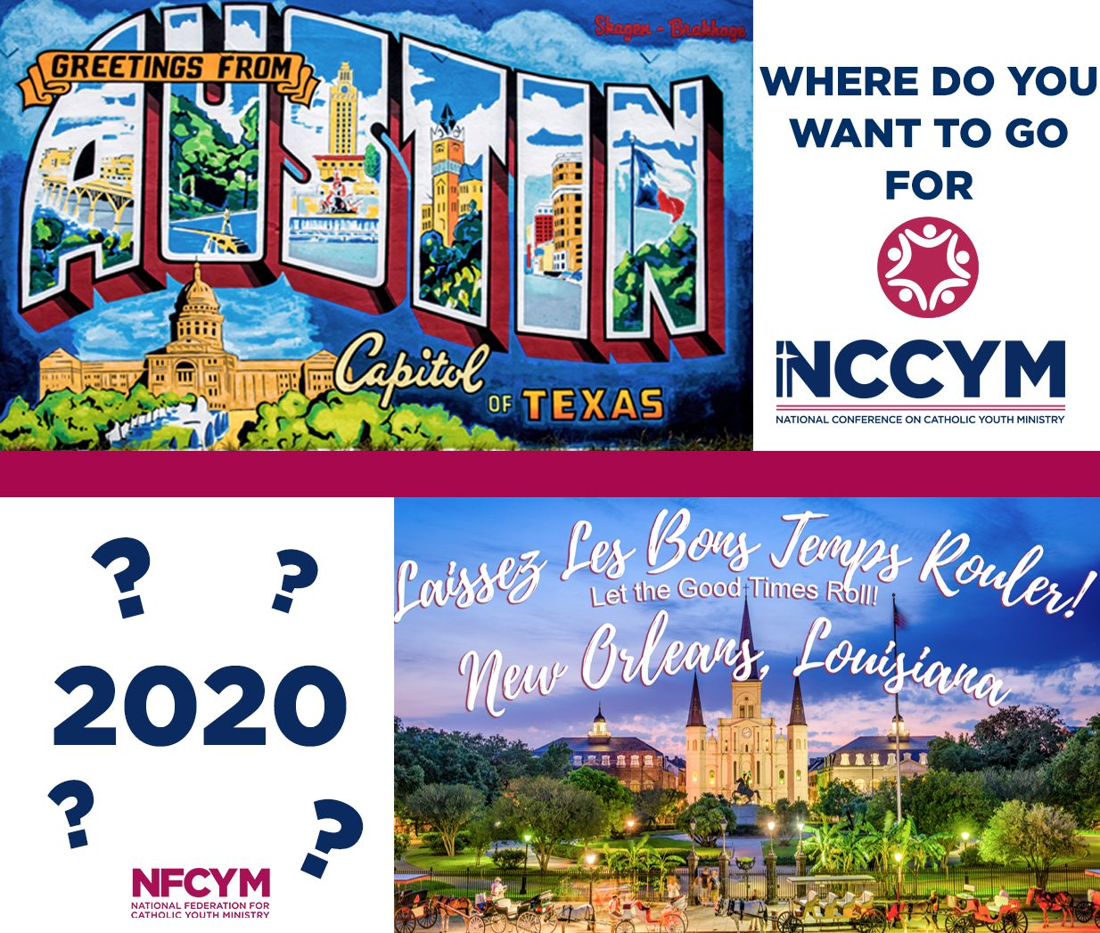 Nfcym On Twitter Where Do You Want To Go For The National