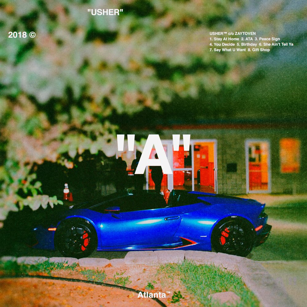 Usher is back! Stream his Zaytoven-produced album &quot;A&quot; featuring Future and Gunna  https:// goo.gl/wu2tmd  &nbsp;  <br>http://pic.twitter.com/7HcA05ZXwq