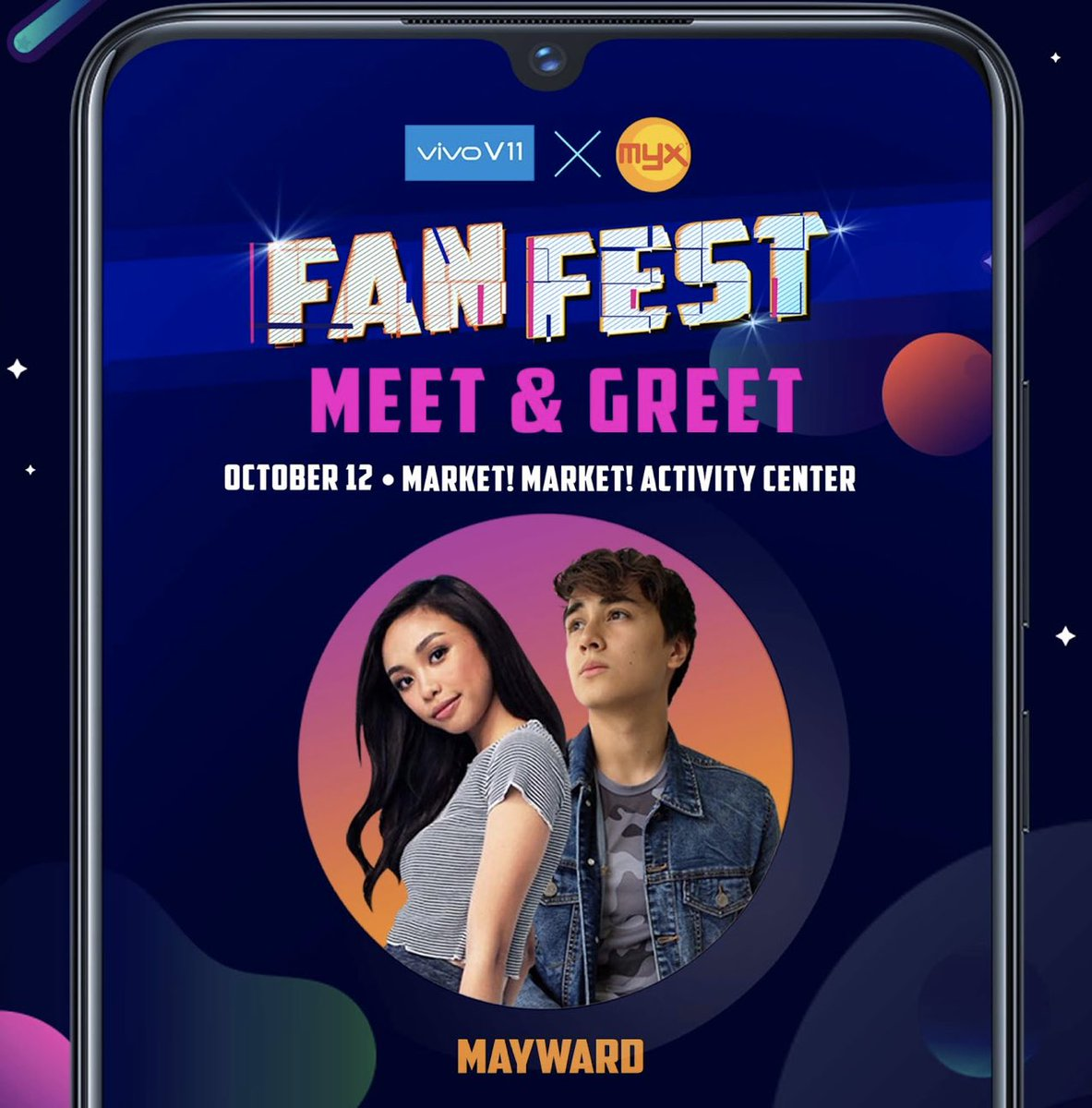 Mayward Official On Twitter Happening Today Vivo X Myx Fan