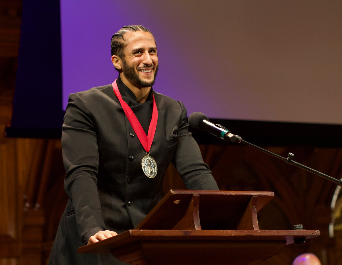 Thank you Harvard University for honoring me tonight with the W.E.B. Du Bois Medal. I'm grateful for this recognition and to be amongst the other highly esteemed honorees that inspire me.  Photo Credit: Amari Kenoly