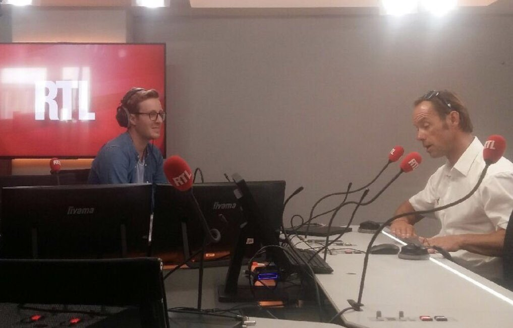 VOILE : Thomas Coville @Sodebo_Voile ce matin sur @RTLFrance dans @RTLPetitMatin à trois semaines du départ de la @routedurhum «Ton pire ennemi peut être un jour te sauvera la vie» #voile #RDR2018  - FestivalFocus