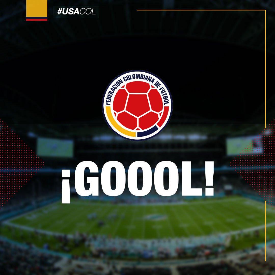 #USACOL   Min 36: GOLAZO GOLAZO GOLAZO DE @jamesdrodriguez   🇺🇸 0- 🇨🇴 COL 1