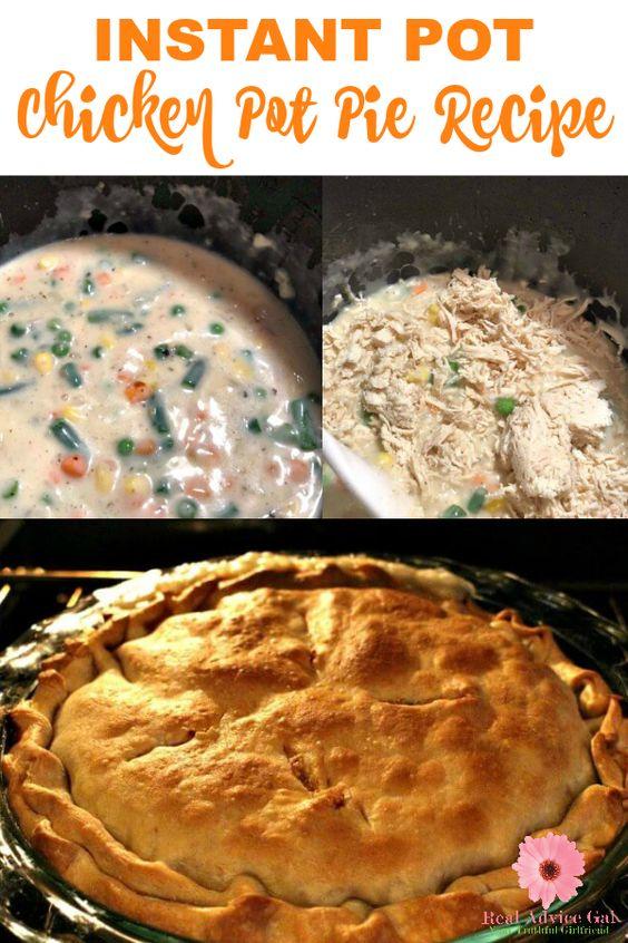 #Instantpot chicken pot pie #recipe https://t.co/xV6HyndpMS https://t.co/hsrgC4Je7j