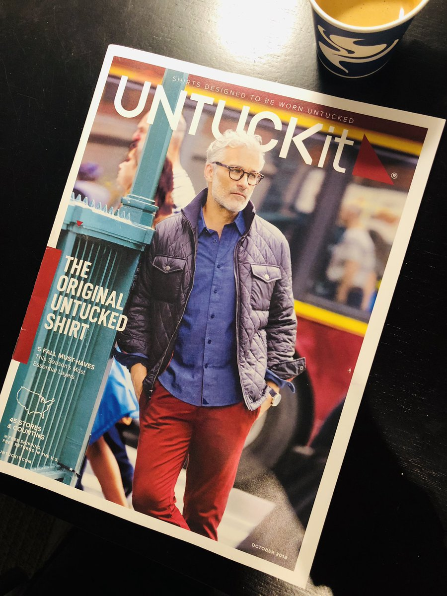 The new issue of Untuckit is here...THE NEW ISSUE OF UNTUCKIT IS HERE!!!!