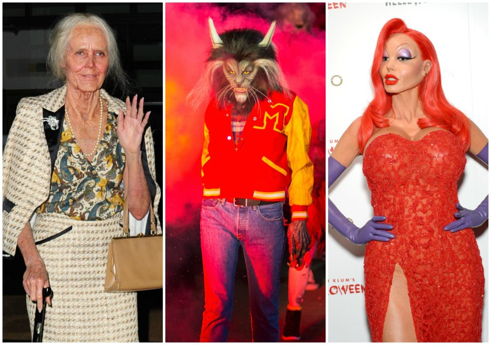 A History Of Queen Heidi Klum S Iconic Costumes Https T Co