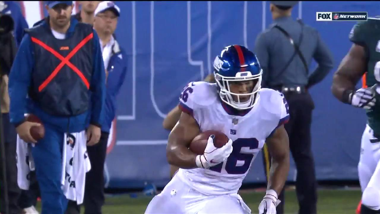 .@Saquon will not be stopped. #PHIvsNYG https://t.co/1z3sLqAmxi