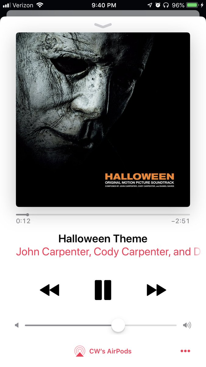 "c. w. walker on twitter: ""free halloween (2018) theme song download"