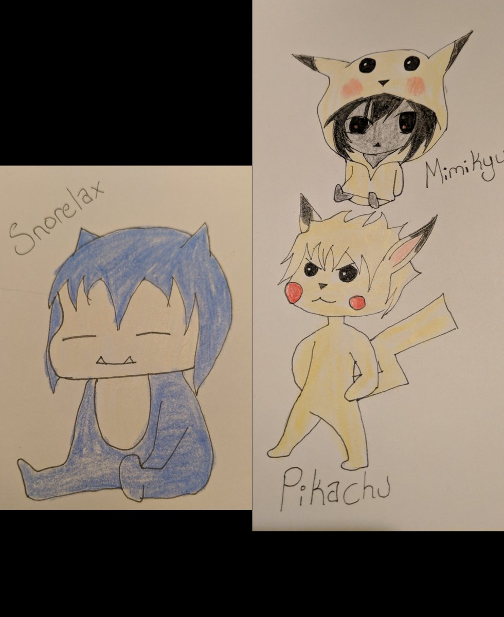 @PatrckStatic Here's the chibi art you asked for. Sorry they aren't the best.