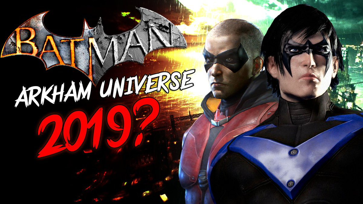 """I want to say last time im going to report on another """"Batman Leak"""" but we know, I probably will. Anyway Here we Go the 2018 Edition XD #Batman #ArkhamUniverse https://www.youtube.com/watch?v=IdN-XVPFwp4… @BatmanNewsCom @ArkhamVideos"""