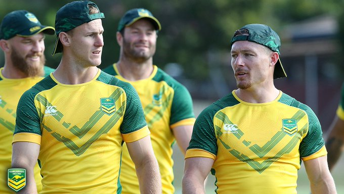 Who holds the key to the @Kangaroos success in #RoosKiwis? @BradFittler has his 📝 Photo