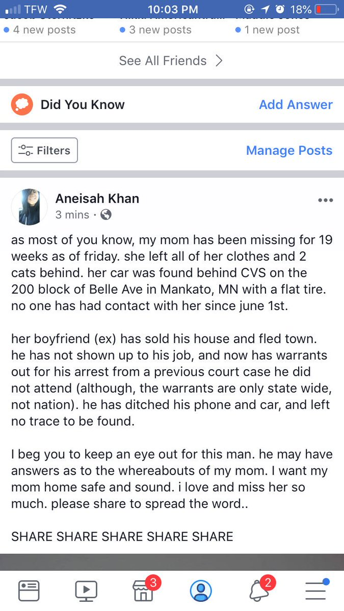 PLEASE READ AND SHARE. I NEED TO FIND MY MOM ‼️‼️‼️‼️