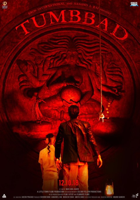 The most visual experience you will have in theaters! Must watch! #tumbbad @rahianil @s0humshah Photo