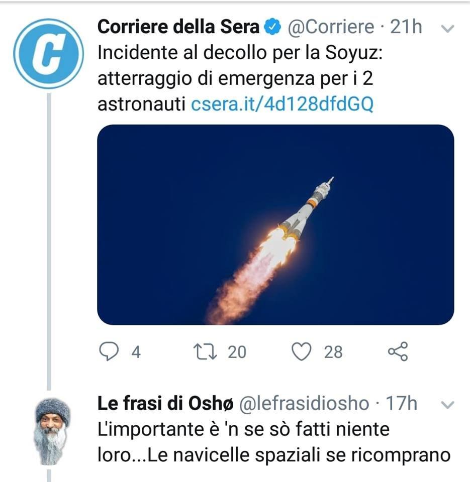 Le frasi di Oshø's photo on #Soyuz