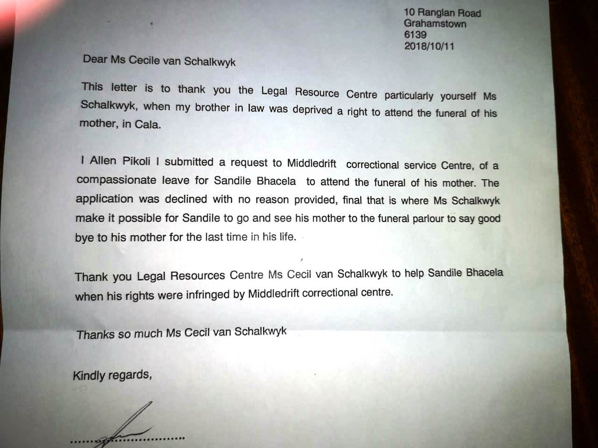 Lrc South Africa On Twitter We Love Receiving Thank You Notes Our