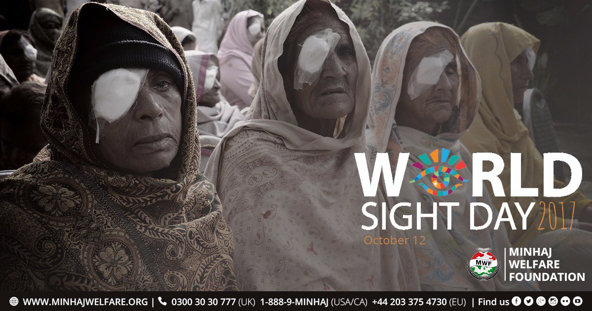 We carry out free eye treatments and surgeries for those living in poor and remote regions in Pakistan. #WorldSightDay <br>http://pic.twitter.com/iazLEreGLN